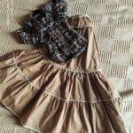 Комплект одежды Iplehouse в стиле бохо, размер SID EID