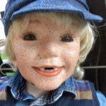 Очень редкий мальчик Гекльберри Фин от Donna Rubert