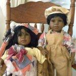 Пара характерных кукол  La Bambola