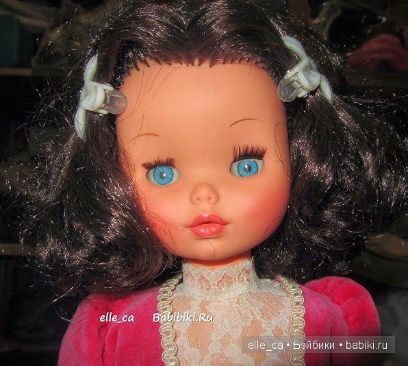 замена ресниц у кукол