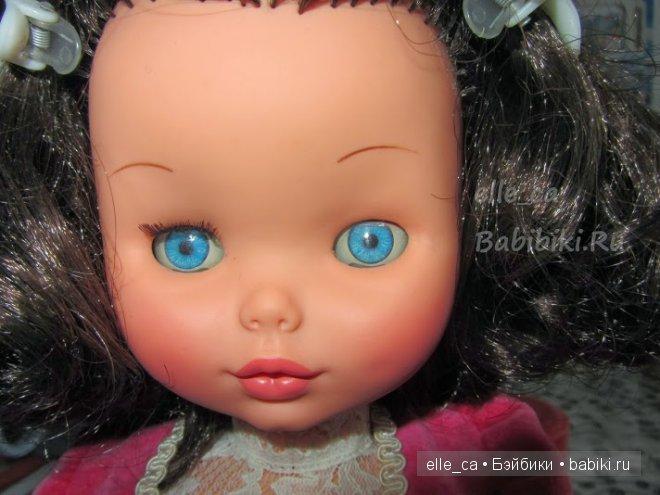 реставрация ресниц винтажных кукол
