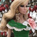 Наряд для кукол Барби, Poppy Parker, Fashion Royalty Integrity Toys и схожих по размеру кукол