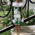 Платье для кукол Барби, Poppy Parker, Fashion Royalty Integrity Toys и схожих по размеру