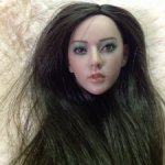 Красивая и очень реалистичная головушка от фирмы Kumik