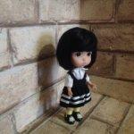 Вредная малышка, авторская куколка от DuoDing Doll