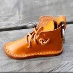 Лекало для изготовления кукольной обуви