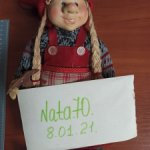 Кукла коллекционная интерьерная Хохотушка