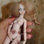 Шарнирная авторская кукла в единственном экземпляре . Срочно 10000!!!!