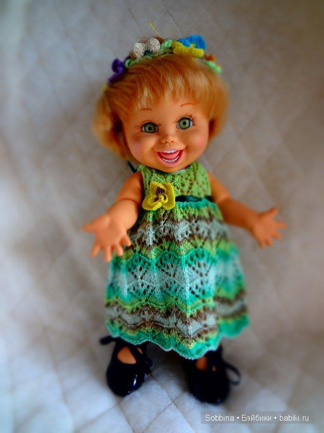вязание, Galoob Baby Face, бебифейс