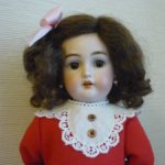 Милейшая антикварная куколка Kämmer & Reinhardt, 32 см