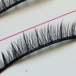 Скидки! Красивые ресницы от 2-4 до 4-9 мм: коричневые и черные (без коробочек и остатков клея).