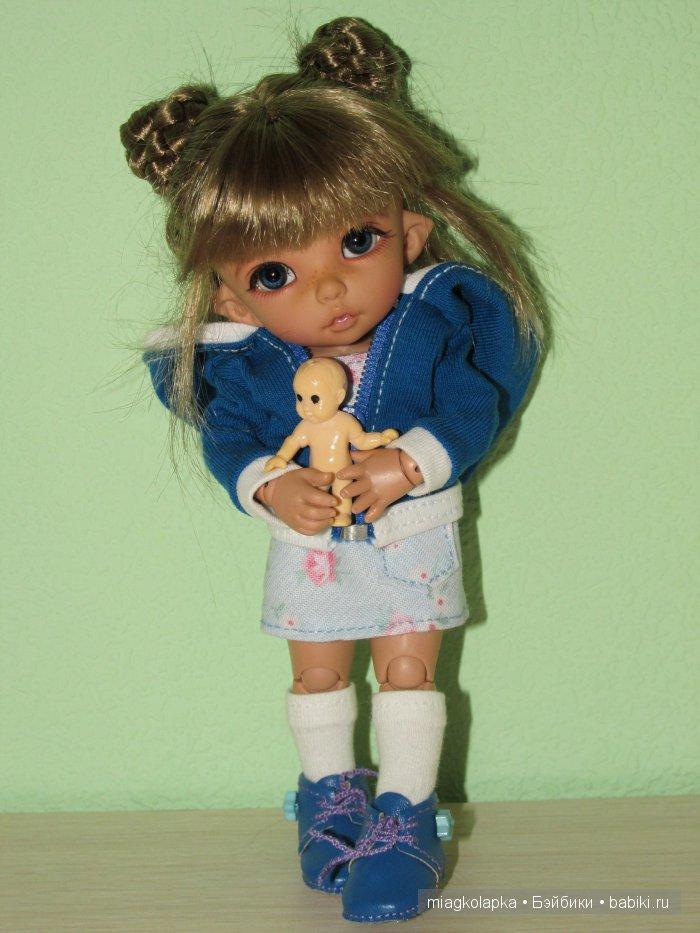 Как сделать одежду для кукол без шитья фото 433