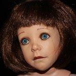 Тихонько скрипнула дверь... Кукла от Jane Bradbury