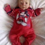 Моя любимая кукла реборн Пуговка родилась