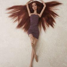 Продам парик для кукол от Анны Добряковой и кукол с похожим размером головы