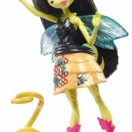 Мини-кукла Цветочные монстрики с питомцами Mattel Monster High