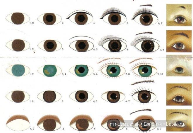 о глазах для валяных вязаных шитых игрушек как сделать глаза