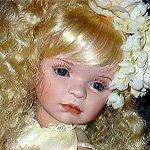 Экслюзивная и очаровательная фарфоровая кукла от Линды Рик