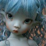 Потрясающая кукла открылся преордер Linda Elf in grey skin by Linda Macario