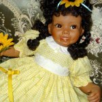 Tessy фарфоровая кукла от Синди Рольф
