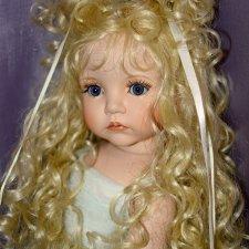 Прекрасная лебедь кукла от Линды Рик!