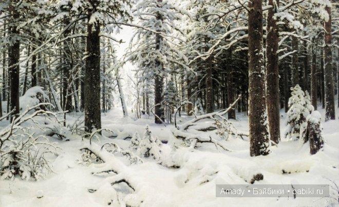 русь в снегу фото