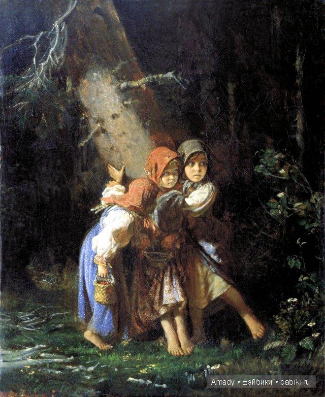 голые девочки связанные в лесу