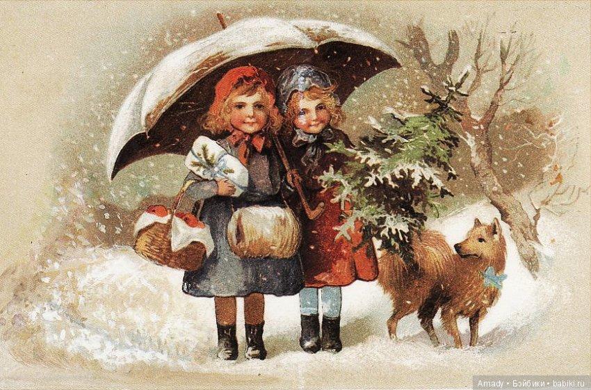 выглядит картинки к новому году и рождеству старинные случае варениками правильная
