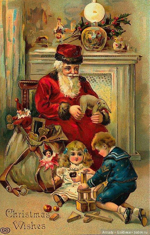 Ретро открытки с новым годом и рождеством фото, прикольные