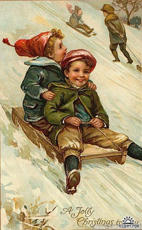 Годовщиной, дети на открытках 50 годов