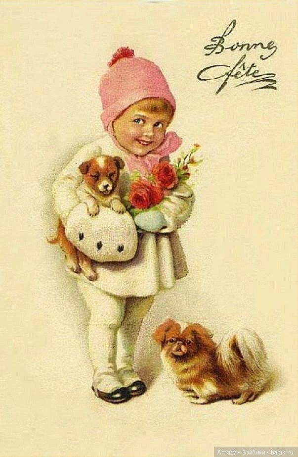 Старинные открытки игрушки, мотоциклиста картинки
