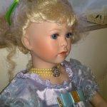 На выходные предлагаю за 6500! Кукла Марина от Уте Казе Лепп.