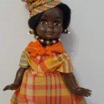 Негритянка Petitcollin.Костюм Гваделупы