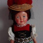 Кукла немецкой марки Cellba.Целлулоид