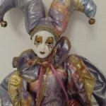 Будуарная кукла.Пьеро/Арлекино