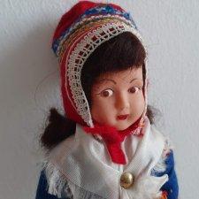 Финская кукла в костюме саами