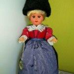 Кукла в тирольском костюме.Австрия