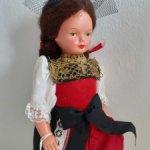 Немецкая кукла WESTO,серия Trachten Рuppen Doll