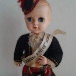 Английская кукла в шотландском костюме.(PEDIGREE ?)