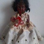 Кукла негритянка.Breveté SGDG.Франция