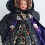 Миниатюрная куколка (13 см) SNF.Франция.Родная туба