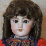Парик для куклы 12