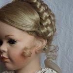 Парик для большой  куклы 15-16