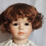 Парик для куклы 15