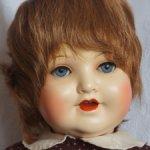 Парик для куклы 14-15 натуральный