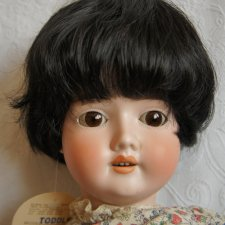 Парик для куклы 11-12