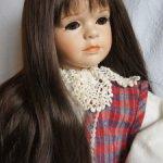 Парик для куклы 16-17
