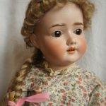 Парик для куклы 12-13 имитация кожи головы