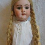 Натуральный   парик для куклы