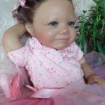 Маленькая принцесса, коллекционная кукла(силикон), цена снижена